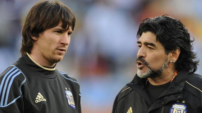 Messi - Maradona
